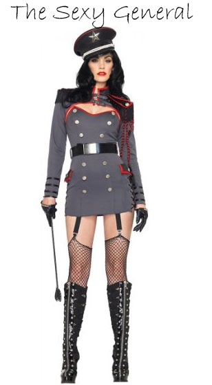 sexy military costume for women