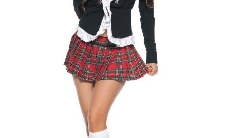 sexy school girl halloween costume
