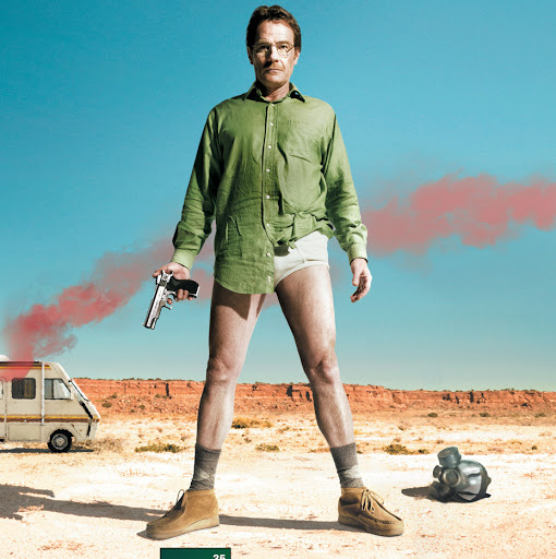 Walter White in Underwear
