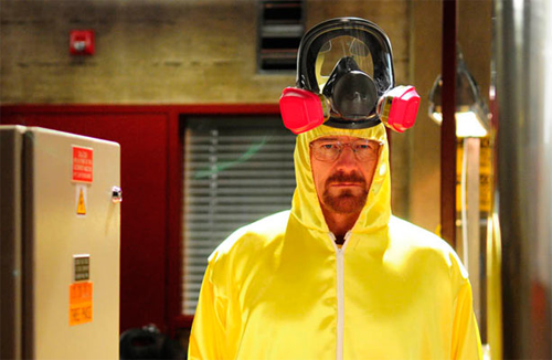 Walter White Meth Cook suit