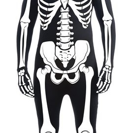 Men's Skeleton Halloween Costume