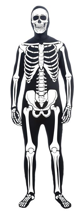 Men's Skeleton Halloween Costume