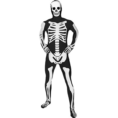 Men's Skeleton Morphsuit Halloween Costume