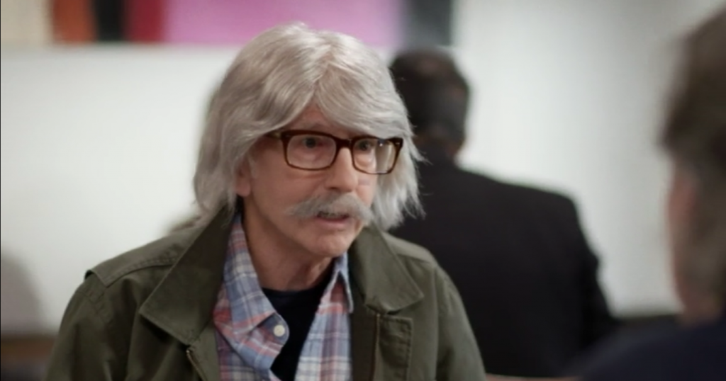 Larry David in his Fatwa disguise